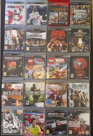 Big collection of ps3 used gamea
