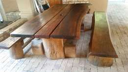 Ironwood 12 seater table