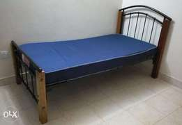 3x6 Bed and Heavy Duty mattress for sale