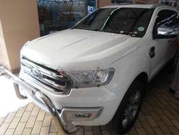 Ford Everist 3.2 ltd 4x4 a/t