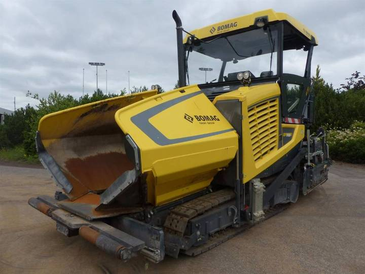 BOMAG Bf 700 C S500 - 2014
