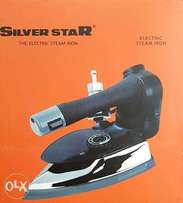 SILVER STAR Industrial Electric Steam Iron, 4 ltr Movable Water Tank