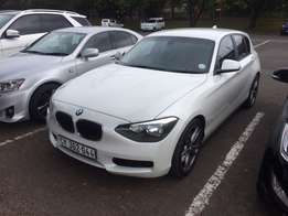 2012 BMW 118i 5 Door Hatchback Automatic (F20)