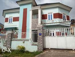 4bedroom detached duplex with 1bedroom flat as BQ to let at Kaura