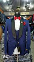 Men's Classic Designer Suit-Royal Blue