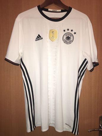 5c2c210f9 Koszulka piłkarska reprezentacji Niemiec - oryginalna Łódź Polesie ...