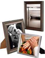 Photo frames and glass clip frames for craft enthusiasts