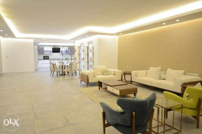 The fantastic, furnished, very big floor in Bayan,