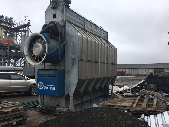 DELUX Propan/metan, Protochna, 250 ton na dobu! grain dryer - 2019