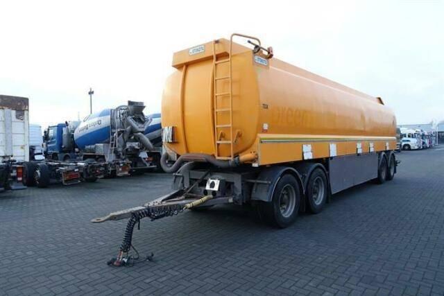 BPW aanh 36 4 axle  tank - 2007