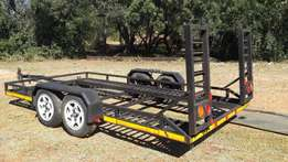 Car/flatbed trailer for sale - R22,000