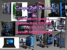 custom built gaming pc systems fully guaranteed built to specification