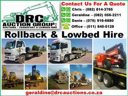 DRC Auction Group - Transport (Rollback and Lowbed Hire)