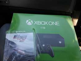 Xbox one 1TB need for Speed rivals and Tom clancy's rainbow siege