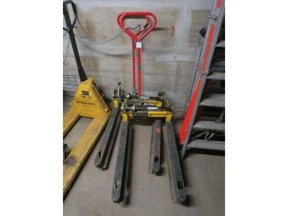 Transport Pal-Bac  trolley hand pallet truck for sale by auction