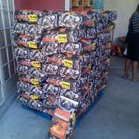 Namibian Charcoal and Briquettes.