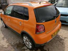 Volkswagen polo Cross sport. 2009 model KCD number. Loaded with alloy