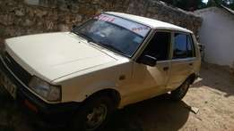 Well maintained Daihatsu Charade up for grabs.
