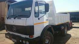 Mercedes Benz econoliner 6cube tipper on special
