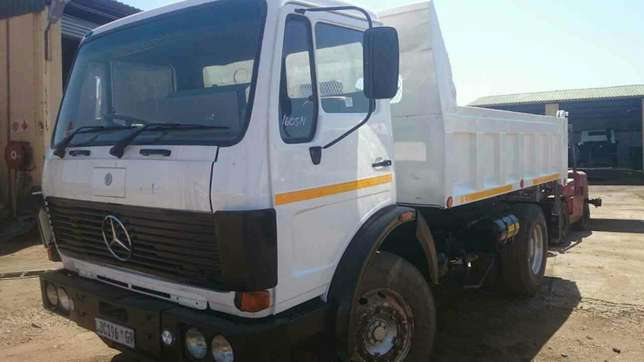 Mercedes Benz econoliner 6cube tipper on special Springs - image 1