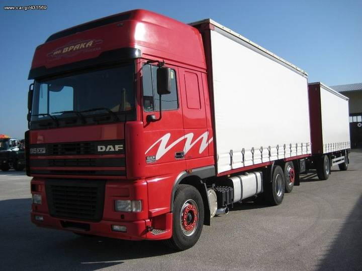 DAF AS 95 XF-430 '01 - 2001