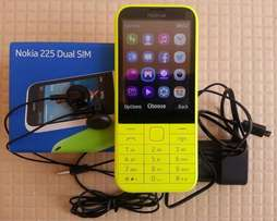 Brand new Nokia 225 smartphone in a shop