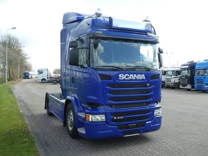 Scania R410 highline retarder - 2015