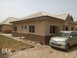 Well finished three bedroom bungalow with two bedroom BQ