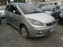Mitsubishi colt plus KCM number 2010 model loaded with alloy rims