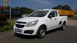 2013 Chev Utility 1.4i With A/C!