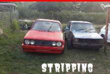 Golf 1 stripping for spares phoenix