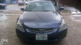 Clean Honda accord 2003/4 model for sale
