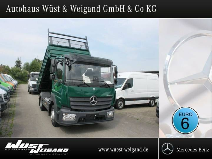 Mercedes-Benz Atego 823 K Standh.+2xAHK+Bordwand 600 mm+Klima - 2018