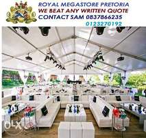 Frame tent and event furniture manufacturer