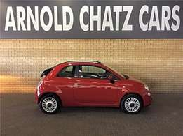 2015 Fiat 500 Cabriolet 1.2 Lounge For sale