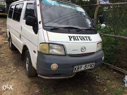 Mazda Bongo Super Carrier, ideal for matatu or private use