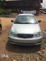 Toyota corola 2004 model direct Tokunbo 4 sale