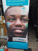Advert board (roll up stand)