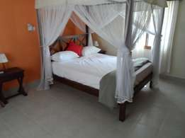 Executive 2 bedroom fully furnished ocean view cottage, Nyali citymall