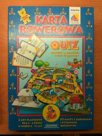 Gra Karta Rowerowa Quiz Dla Dzieci Granna Lodz Baluty Olx Pl