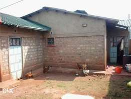 Plot and house for sell