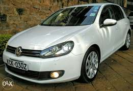 Volkswagen Vw Golf Sports 2010 Pearl White 1400cc