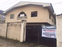Block of 4-Flats located off Elitor Street, Woji, Port-Harcourt