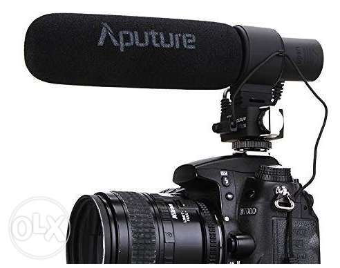 Aputure V-Mic D2 Sensitivity Adjustable Directional Condenser Shotgun
