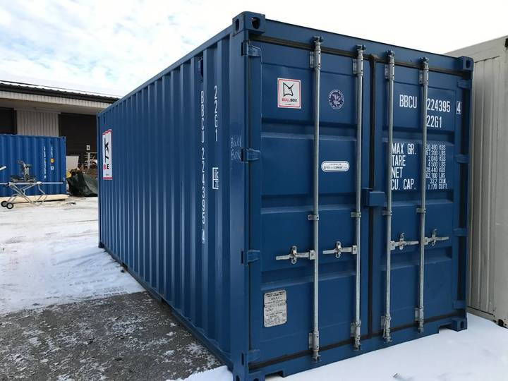 Sjöcontainer 20 Fot - 2017