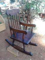 Wooden rocking chair,self made