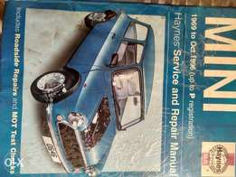haynes mini service manual for sale
