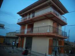 A newly built apartment in bweyogerere at 200k