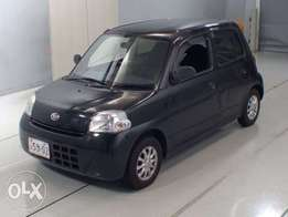Beautiful, efficient Daihatsu Esse. Most economical car in the market