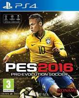 PES 2016 for PS4